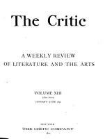 The Critic PDF