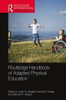 Routledge Handbook of Adapted Physical Education PDF