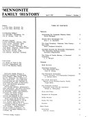 Mennonite Family History PDF