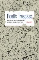 Poetic Trespass PDF