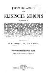 Archiv für klinische Medizin: Band 35