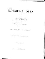 Thorwaldsen and His Works