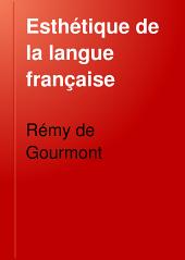 Esthétique de la langue française: La déformation; la métaphore; le cliché; le vers libre; le vers populaire
