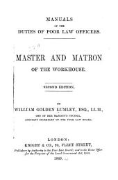 Master and Matron of the Workhouse