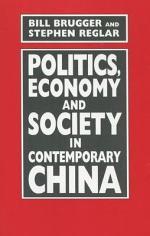 Politics, Economy and Society in Contemporary China