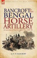 Bancroft of the Bengal Horse Artillery