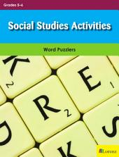 Social Studies Activities: Word Puzzlers for Grades 5-6