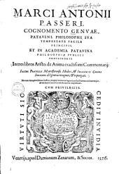 In tres libros Aristotelis de anima exactissimi commentarii