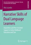 Narrative Skills of Dual Language Learners PDF