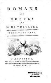 Romans et contes de M. de Voltaire