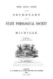 Report of the Michigan State Pomological Society: Volume 9