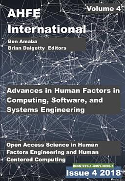 Advances in Human Factors  Software  and Systems Engineering PDF