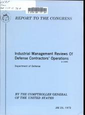 Industrial Management Reviews of Defense PDF