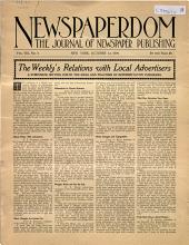 Newspaperdom: Volume 8, Issue 9