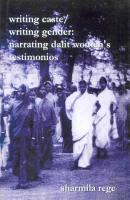 Writing Caste Writing Gender PDF