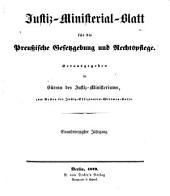 Deutsche justiz: rechtspflege und rechtspolitik ... Amtliches blatt der deutschen rechtspflege, Band 41