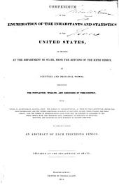 Sixth Census Or Enumeration of the Inhabitants of the United States: As Corrected at the Department of State, in 1840
