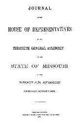 Journal ...: 1st Assembly, 1st Sess., 1820-, Volume 30