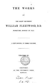 The works of ... William Fleetwood