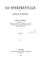 Lo sperimentale ovvero giornale critico di medicina e chirurgia per servire ai bisogni dell'arte salutare