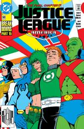 Justice League America (1987-) #60