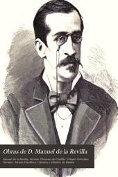 Obras de D. Manuel de la Revilla