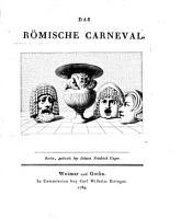 Das r  mische Carneval PDF