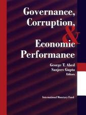 Governance, Corruption & Economic Performance