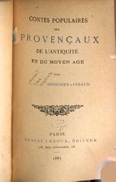 Contes populaires des provençaux de l'antiquité et du Moyen Age