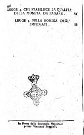 Legge sull'organizzazione dell'Amministrazione della registratura e del dominio nazionale. Roma 9 fiorile anno 7
