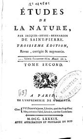 Études de la Nature: Volume 2