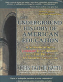 Download The Underground History of American Education Book