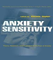 Anxiety Sensitivity PDF