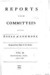 Reports from Committees of the House of Commons which Have Been Printed by Order of the House PDF
