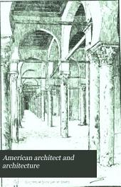 American Architect and Architecture: Volume 13