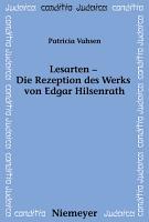 Lesarten     Die Rezeption des Werks von Edgar Hilsenrath PDF