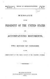 Annual Reports of the War Department: Volume 1