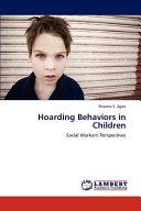 Hoarding Behaviors in Children