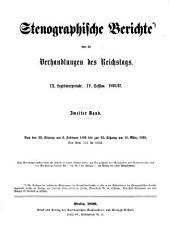 Stenographische Berichte über die Verhandlungen des Deutschen Reichstages: Band 144