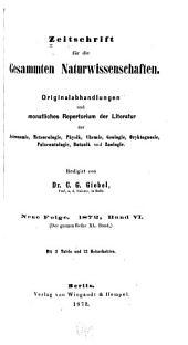 Zeitschrift für Naturwissenschaften: Band 40