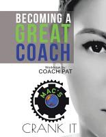 Becoming a Great Coach PDF