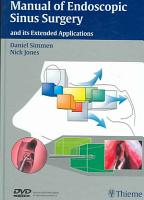 Manual of Endoscopic Sinus Surgery and Its Extended Applications PDF