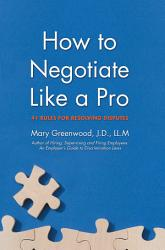 How To Negotiate Like A Pro Book PDF