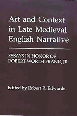 Art and Context in Late Medieval English Narrative