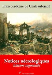 Notices nécrologiques: Nouvelle édition augmentée