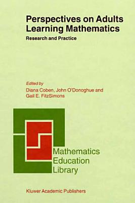 Perspectives on Adults Learning Mathematics PDF