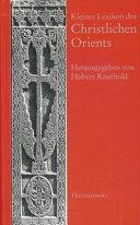 Kleines Lexikon des Christlichen Orients PDF
