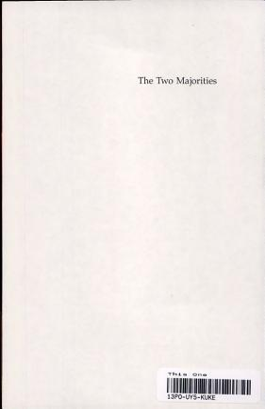 The Two Majorities PDF