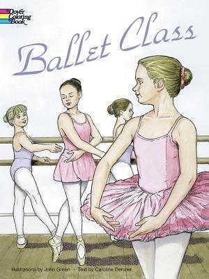 Ballet Class Coloring Book PDF