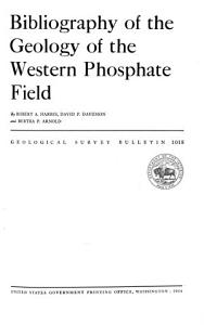 Bibliography of the Geology of the Western Phosphate Field PDF